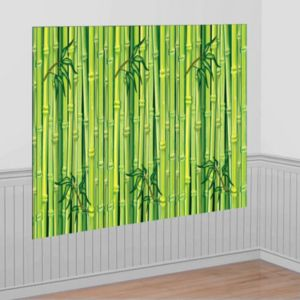 Green Bamboo Room Roll