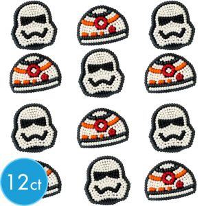 Wilton Star Wars 7 The Force Awakens Icing Decorations 12ct