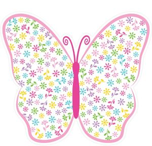Spring Butterfly Cutout 15in X 13 1 4in Party City