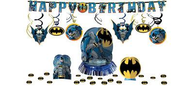 Batman Party Decorations Kit