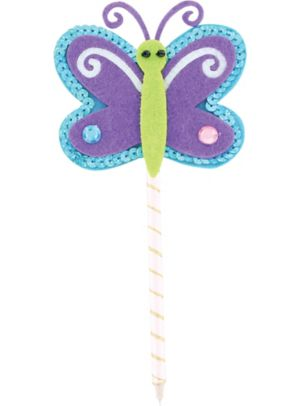 Purple Butterfly Pen
