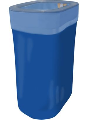 Royal Blue Flings® Pop-Up Trash Bin