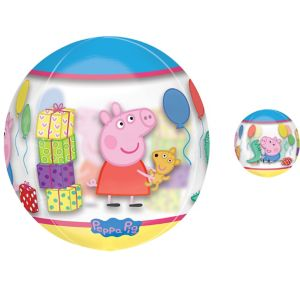 Peppa Pig Balloon - See Thru Orbz