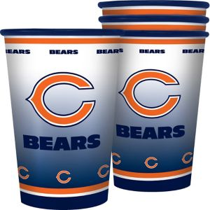 Chicago Bears Tumblers 4ct