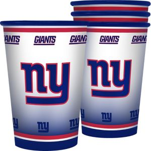 New York Giants Tumblers 4ct