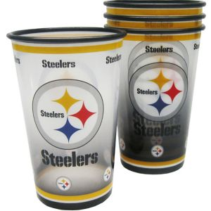 Pittsburgh Steelers Tumblers 4ct