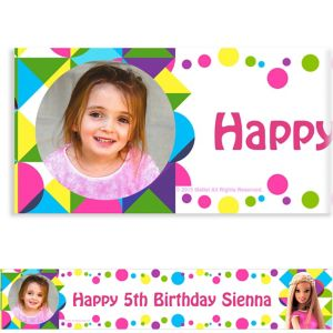Custom Barbie Sparkle Photo Banner