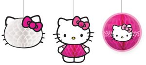 Hello Kitty Honeycomb Balls 3ct