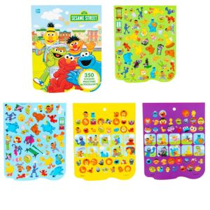 Jumbo Sesame Street Sticker Book 8 Sheets