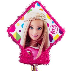 Pull String Sparkle Barbie Pinata