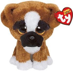 Brutus Beanie Boo Boxer Dog Plush