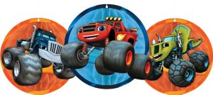 Blaze and the Monster Machines Honeycomb Balls 3ct