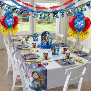 Justice League Party Supplies Super Party Kit for 8 Guests