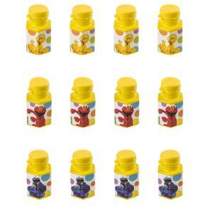 Sesame Street Mini Bubbles 12ct