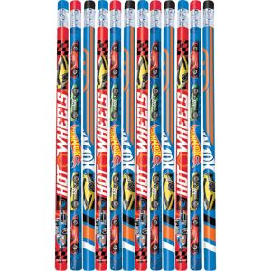 Hot Wheels Pencils 12ct