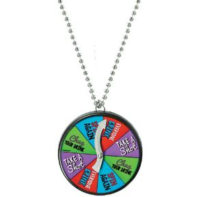 Drinking Game Dare Necklace