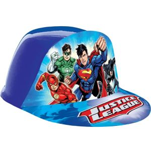 Justice League Plastic Hat