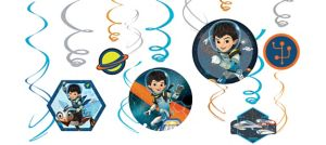 Miles from Tomorrowland Swirl Decorations 12ct