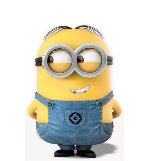 Dave Minion Life Size Cardboard Cutout - Despicable Me