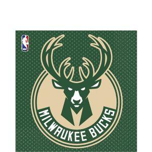 Milwaukee Bucks Lunch Napkins 16ct