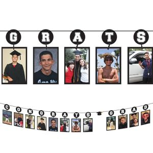 Congrats Grad Photo Garland
