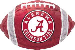 Alabama Crimson Tide Balloon - Football