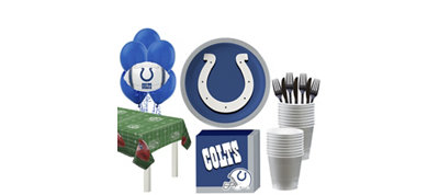 Indianapolis Colts Super Party Kit