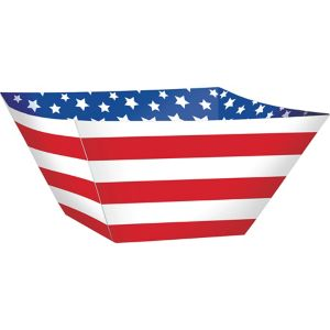 Patriotic Snack Bowls 3ct