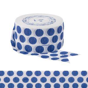Royal Blue Polka Dot Streamer