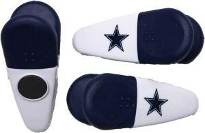 Dallas Cowboys Magnetic Bag Clips 3ct