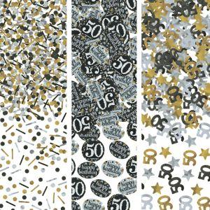 50th Birthday Confetti - Sparkling Celebration