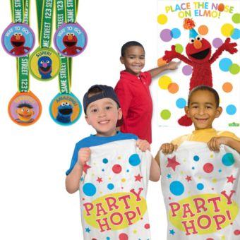 Sesame Street Fun & Games Kit