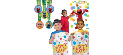 Sesame Street Fun & Games Kit