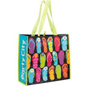 Bright Flip Flop Tote Bag