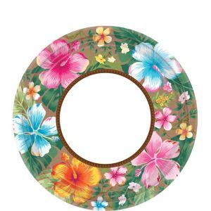 Hawaiian Hibiscus Dessert Plates 18ct