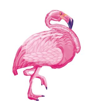 Pink Flamingo Balloon - Giant