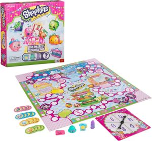 Supermarket Scramble Shopkins Board Game