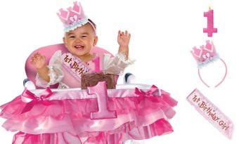 General Girl 1st Birthday Smash Cake Kit