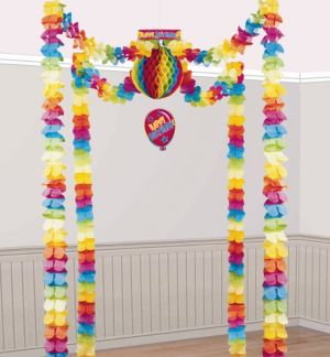 Rainbow Birthday Decorating Kit 3pc