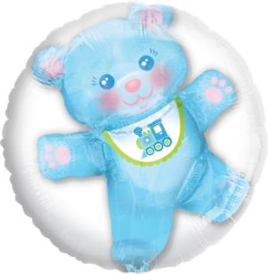 Blue Bear Balloon -Insider
