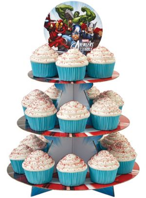 Avengers Cupcake Stand