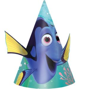 Finding Dory Party Hats 8ct