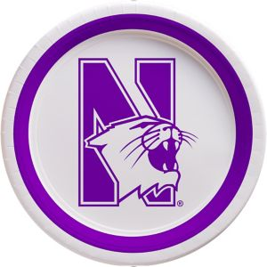 Northwestern Wildcats Lunch Plates 10ct