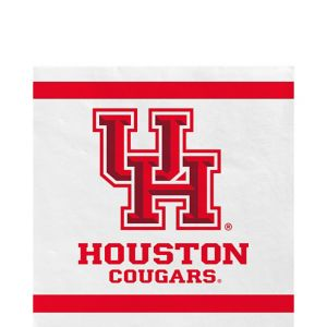 Houston Cougars Lunch Napkins 20ct