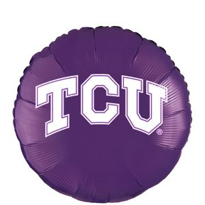 TCU Horned Frogs Balloon