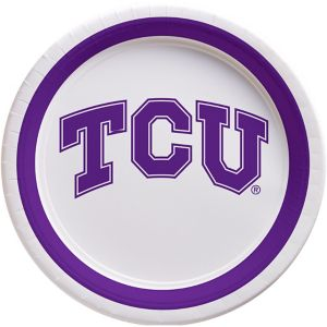 TCU Horned Frogs Lunch Plates 10ct