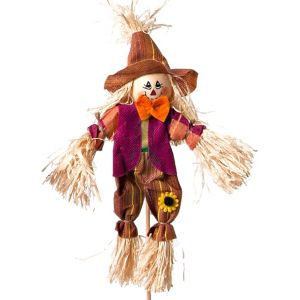 10in Scarecrow Purple/Brown