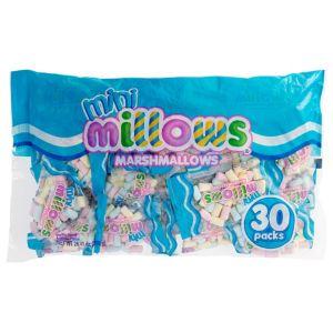 Mini Millows Marshmallow Pouches 30ct