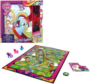 My Little Pony Chutes & Ladders Game