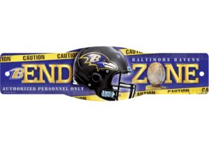 Baltimore Ravens End Zone Sign